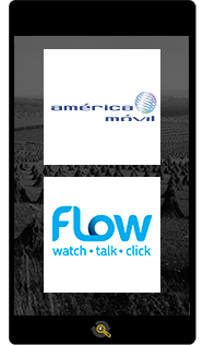 Logos America Movil and Flow, Araxxe customers in Revenue Assurance, Billing Verification & Telecom Fraud Detection