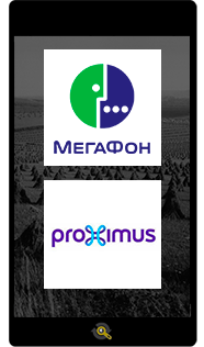 Logos Megafon and Proximus, Araxxe customers in Revenue Assurance, Billing Verification & Telecom Fraud Detection