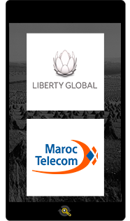 Logos Liberty Global and Maroc Telecom, Araxxe customers in Revenue Assurance, Billing Verification & Telecom Fraud Detection
