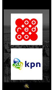 Logos Ooredoo and KPN, Araxxe customers in Revenue Assurance, Billing Verification & Telecom Fraud Detection