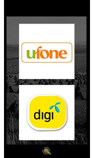 Logos Ufone and Digi, Araxxe customers in Revenue Assurance, Billing Verification & Telecom Fraud Detection