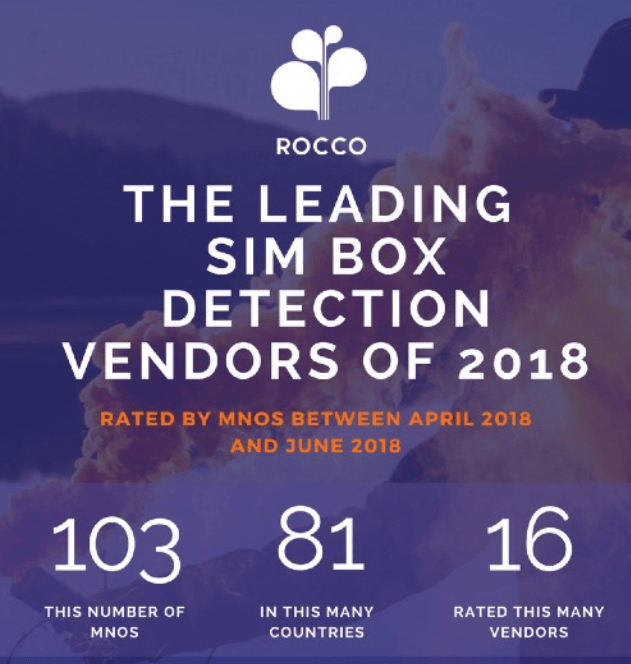 Blog_Fraud detection_Araxxe Best Vendor of SIMBox 2018 by Rocco