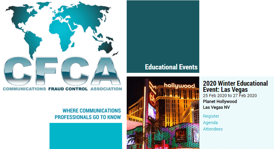 Event CFCA - Las Vegas