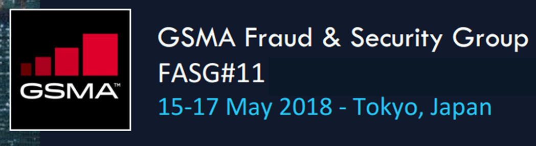 Event - GSMA Fraud & Security Group #11 - Tokyo