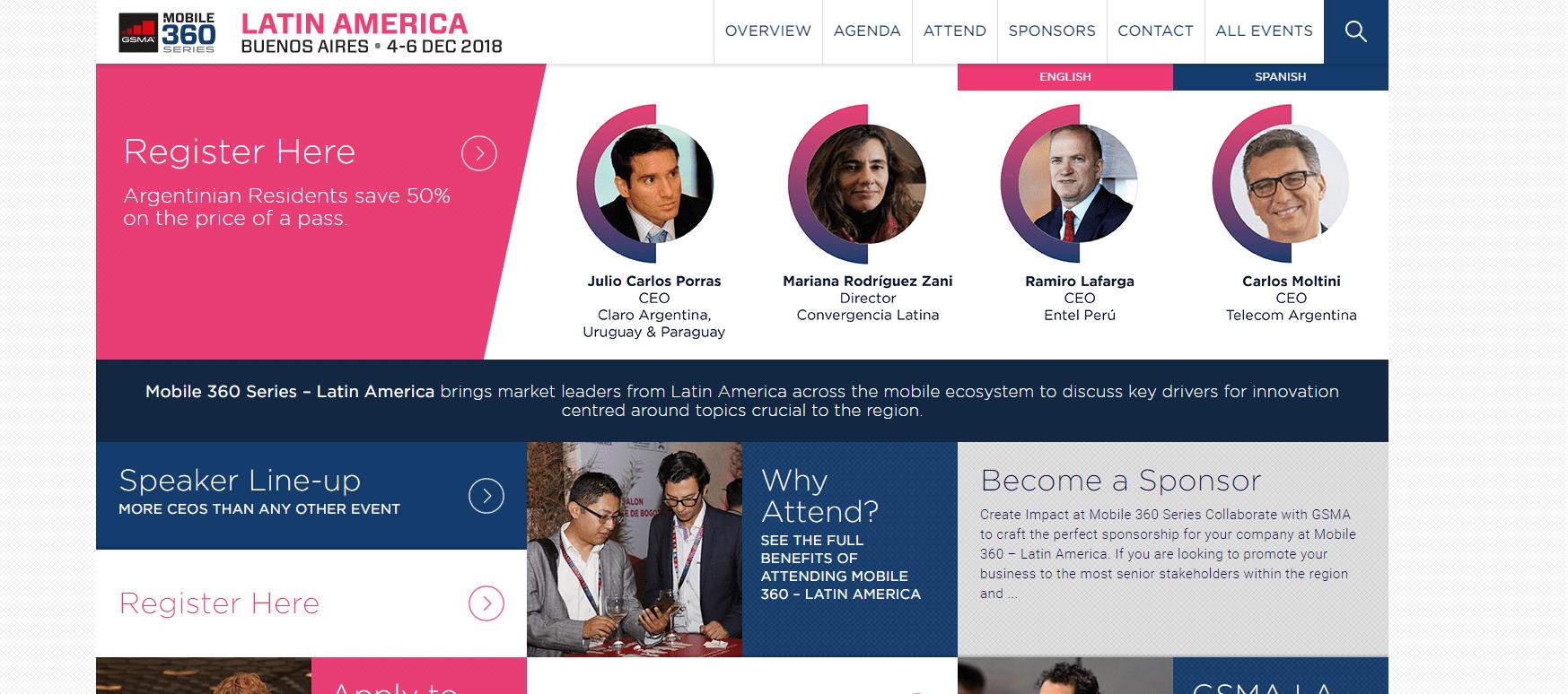 Event - GSMA Buenos Aires