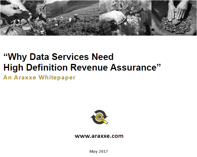 "HOME - Whitepaper ""It's all about the data!"" - Revenue Assurance"