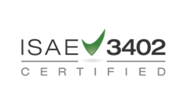 ISAE 3402 type 2 certification